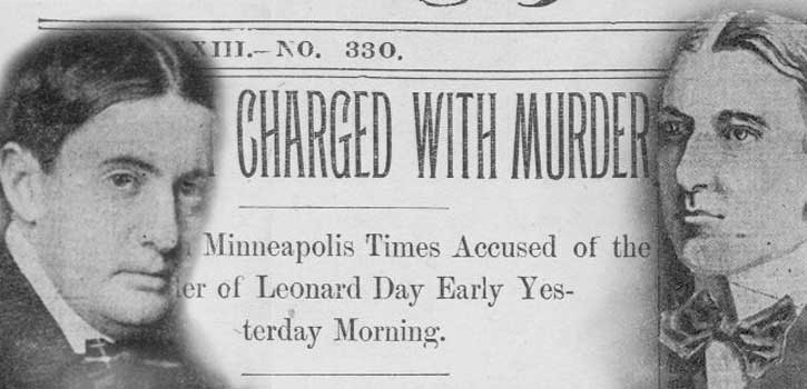charged with murder newspaper clipping